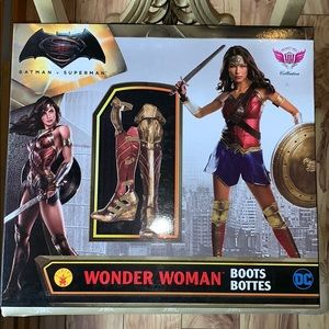 GUC Wonder Woman Cosplay boots - size 11